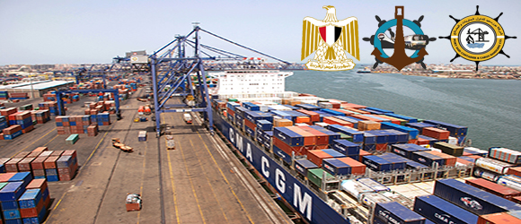 West Port Said Container Terminal received the fir